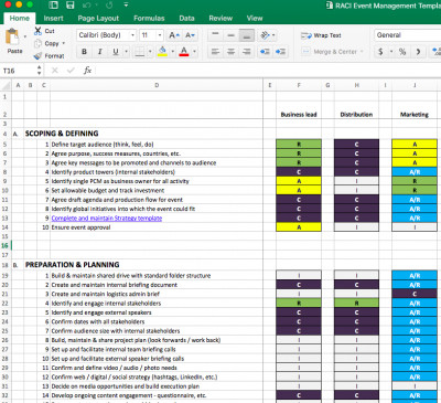 Event Planning Template Excel Your event Management Plan Download the Free Excel