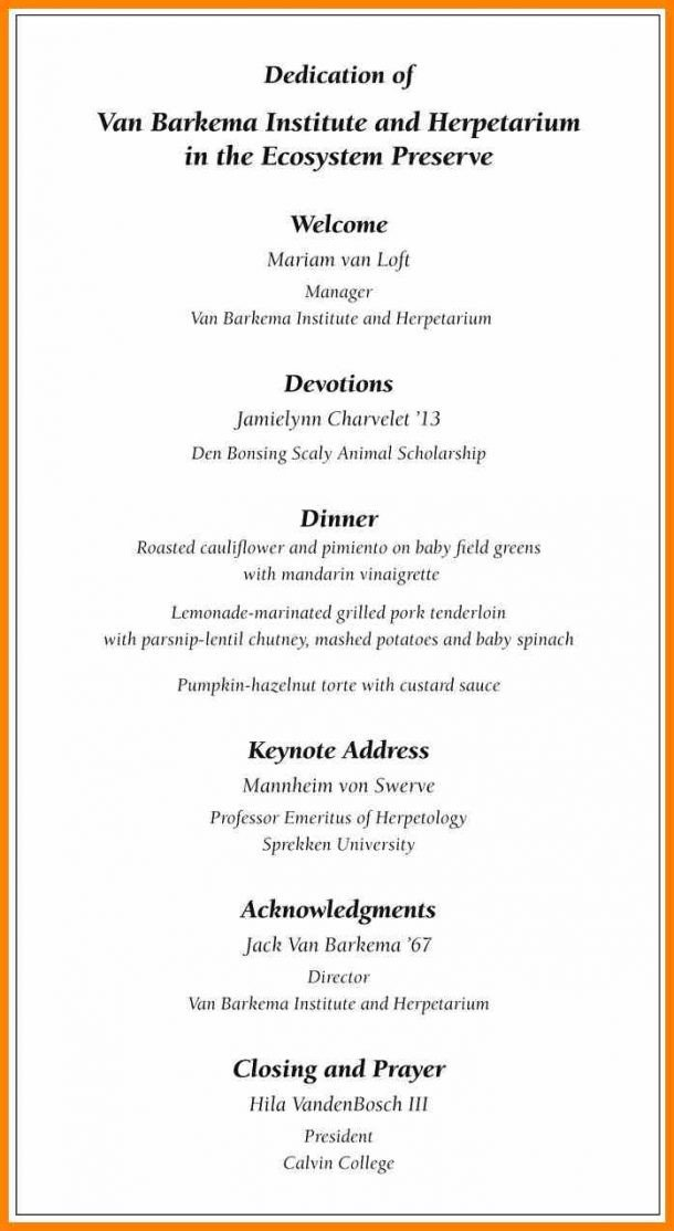 Event Program Template Word 12 13 event Program Booklet Template