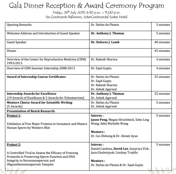 Event Program Template Word 4 Awards event Program Templates formats Examples In