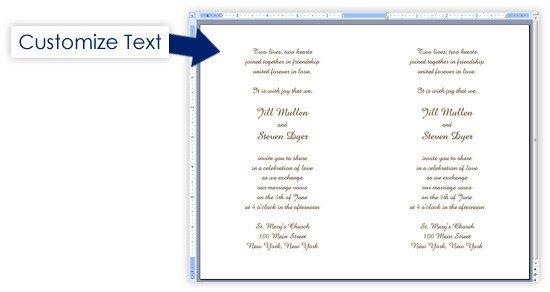 Event Program Template Word Creating A event Program In Word Developerstweet