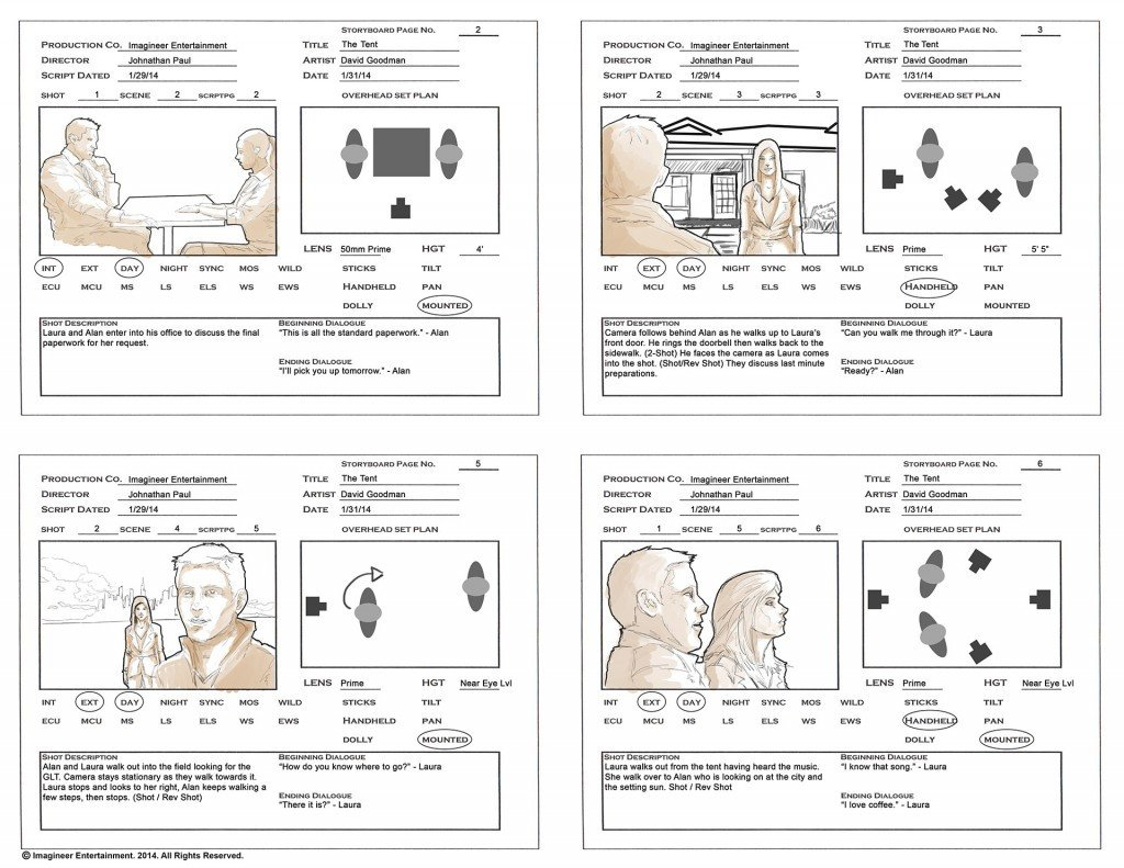 Example Of A Storyboard Storyboarding Your Tips for Your Next Project