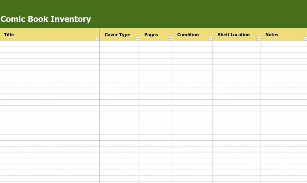 Excel Book Inventory Template Ic Book Inventory
