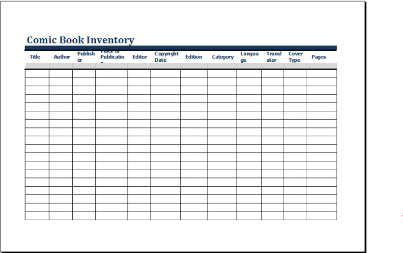 Excel Book Inventory Template Ic Book Inventory Template Ms Excel