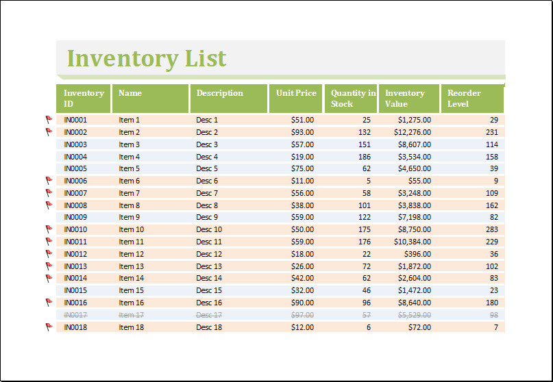 Excel Book Inventory Template Inventory Worksheet Template for Excel