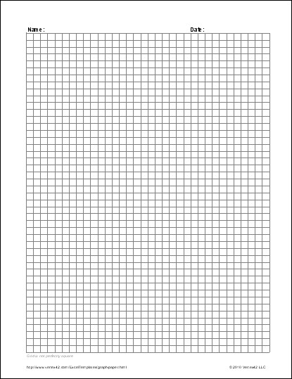 Excel Graph Paper Template Free Graph Paper Template Printable Graph Paper and Grid