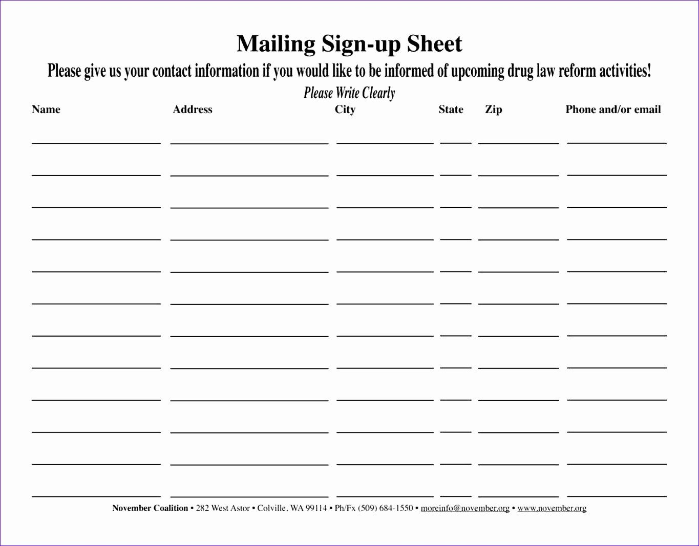 Email List Template Excel For 2021 Printable And Downloadable Gust