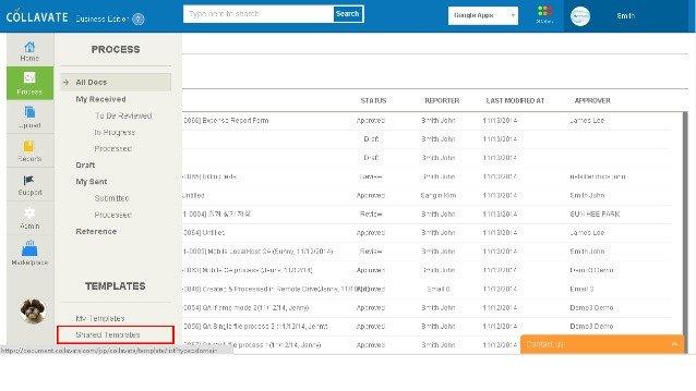 Expense Report Template Google Docs Creating Expense Report Workflow with Google Docs