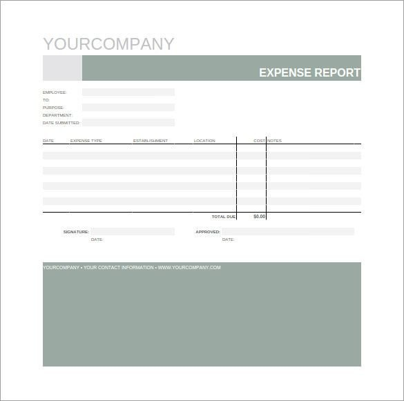 Expense Report Template Google Docs Expense Report Spreadsheet Template 10 Bud Template