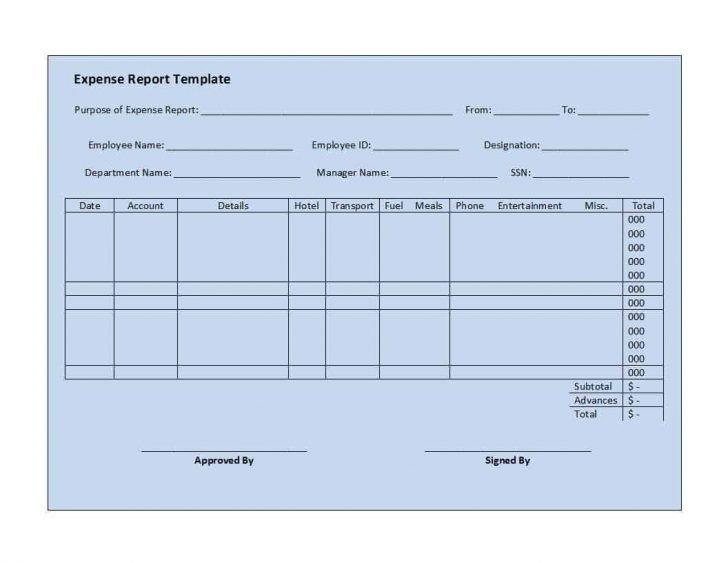 Expense Report Template Google Docs Expense Report Template Google Docs – Expense Report