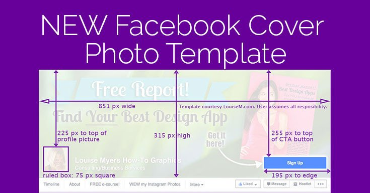 Facebook Cover Page Template Cover 2015 Template It Changed Again