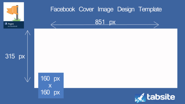 Facebook Cover Page Template Cover Image Powerpoint Design Template for Pages