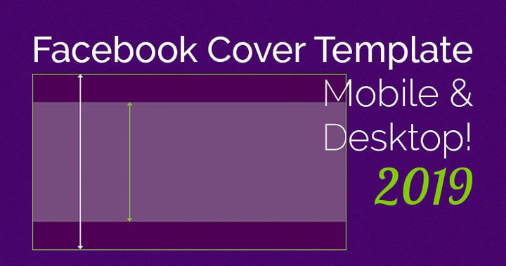 Facebook Cover Page Template Ingenious Cover Mobile Desktop Template 2019