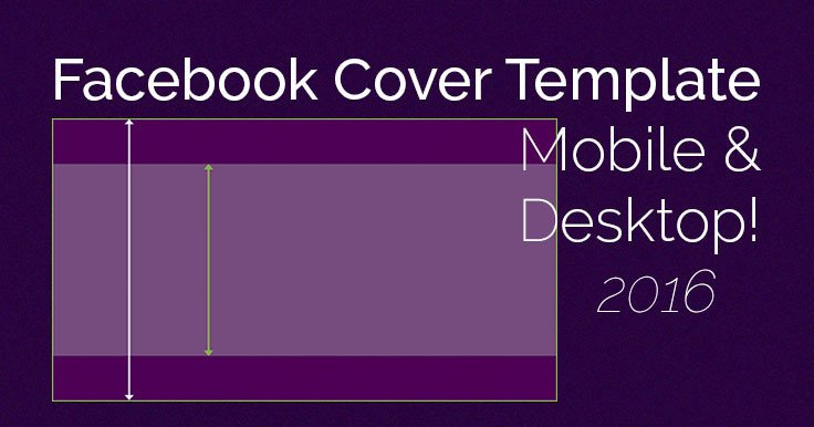 Facebook Cover Page Template Ingenious Cover Mobile Desktop Template