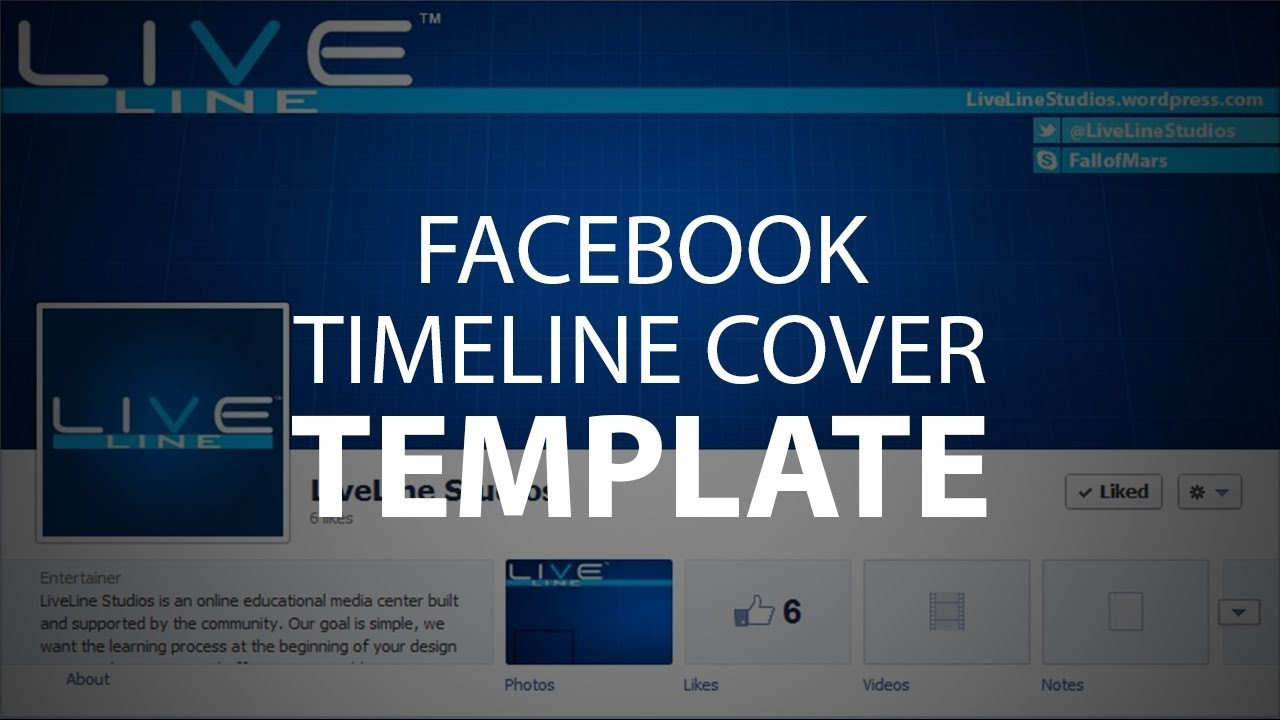 Facebook Cover Page Template Shop Template Timeline Cover Psd File