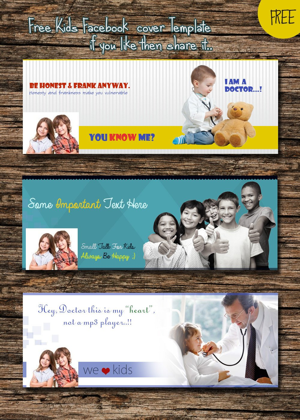 Facebook Cover Template Psd Free Cover Psd Templates