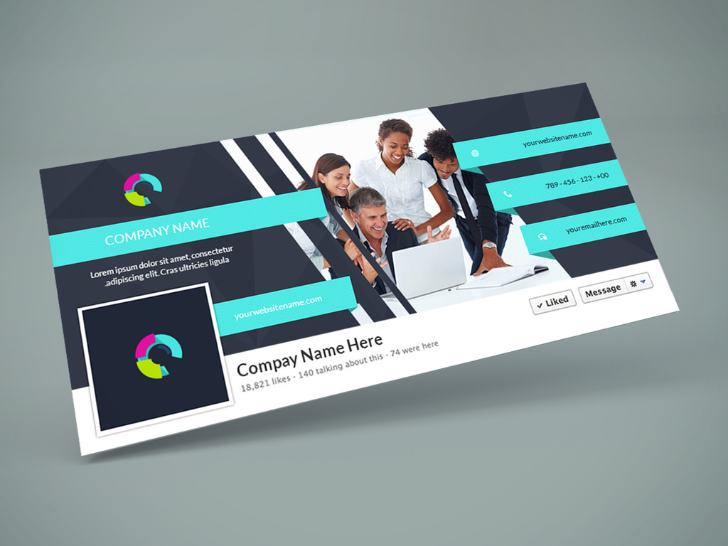 Facebook Cover Template Psd Freebie Cover Psd Design Template by Graphberry
