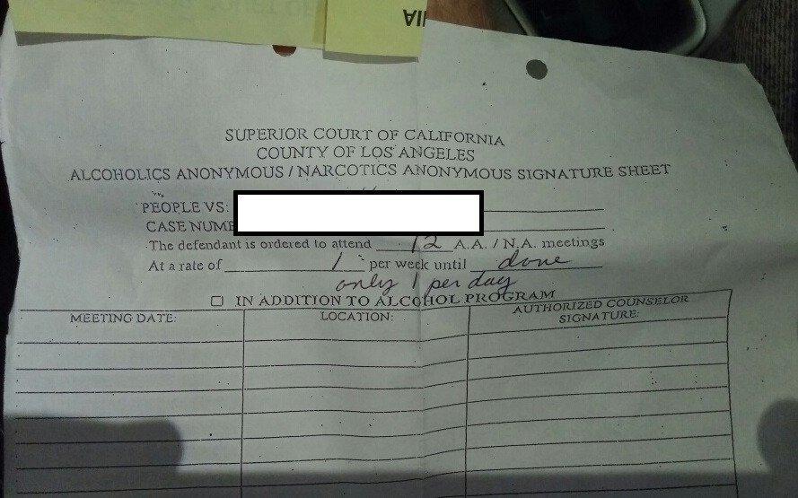 Fake Aa Signature Sheet Sentenced to Aa