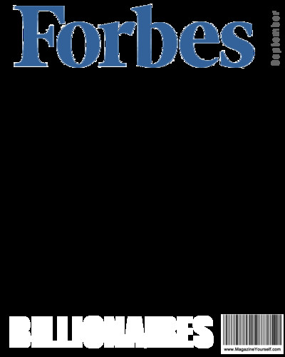 Fake Magazine Cover Template Photoshop Create forbes Magazine Covers