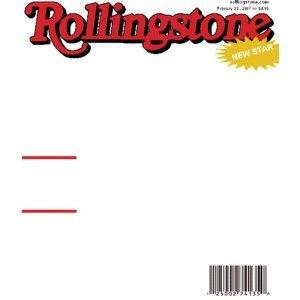 Fake Magazine Cover Template Photoshop Fake Rollingstone Magazine Cover Cool Template themes