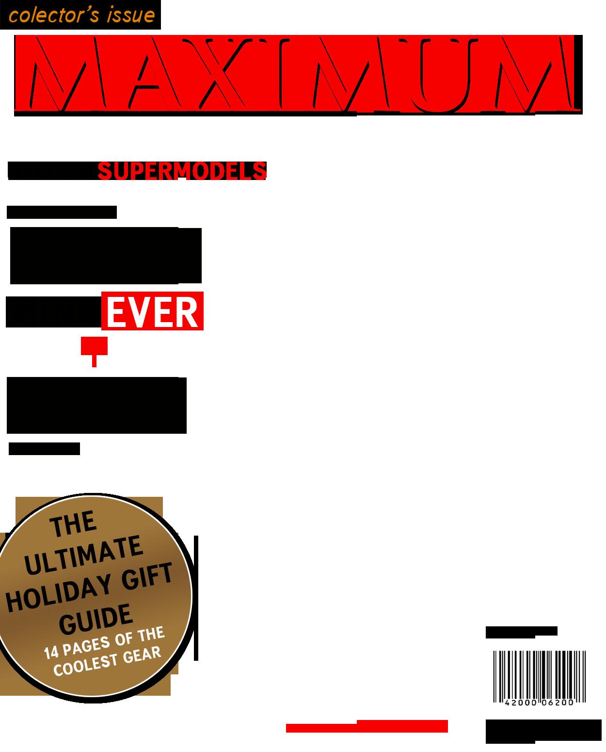 Fake Magazine Cover Template Photoshop Magazine Cover Template