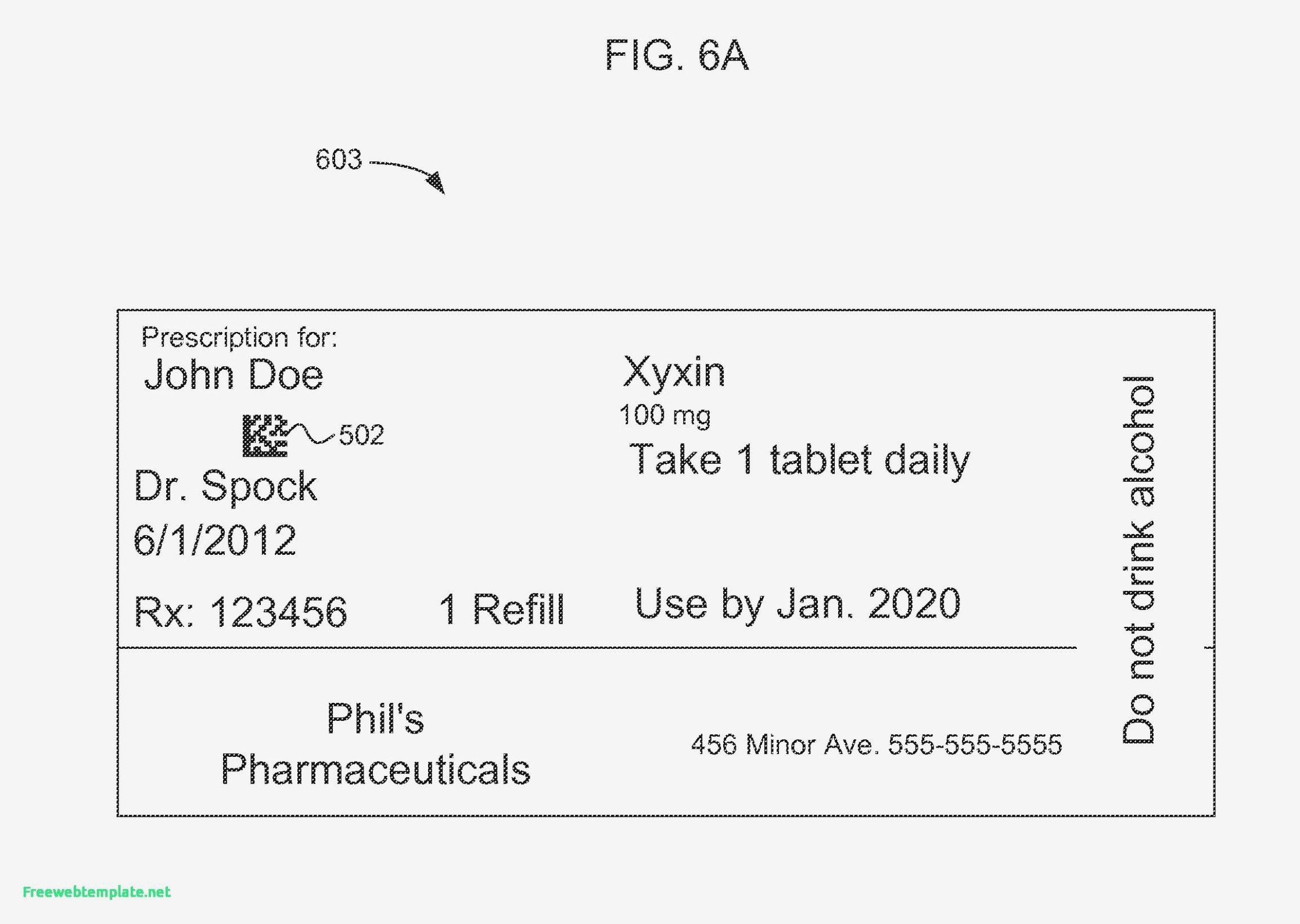 Fake Prescription Label Generator 15 Things to Know About Fake
