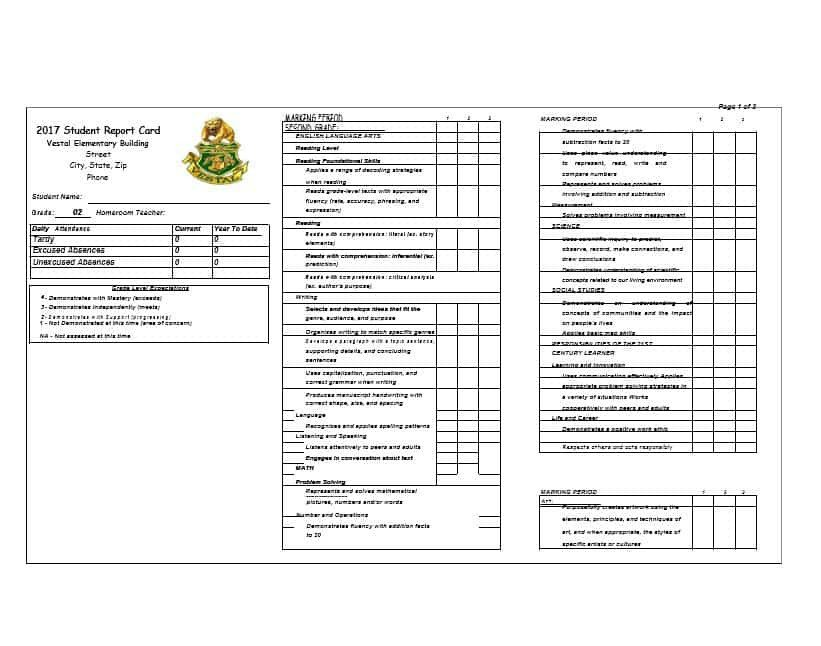 Fake Report Card Template 30 Real & Fake Report Card Templates [homeschool High