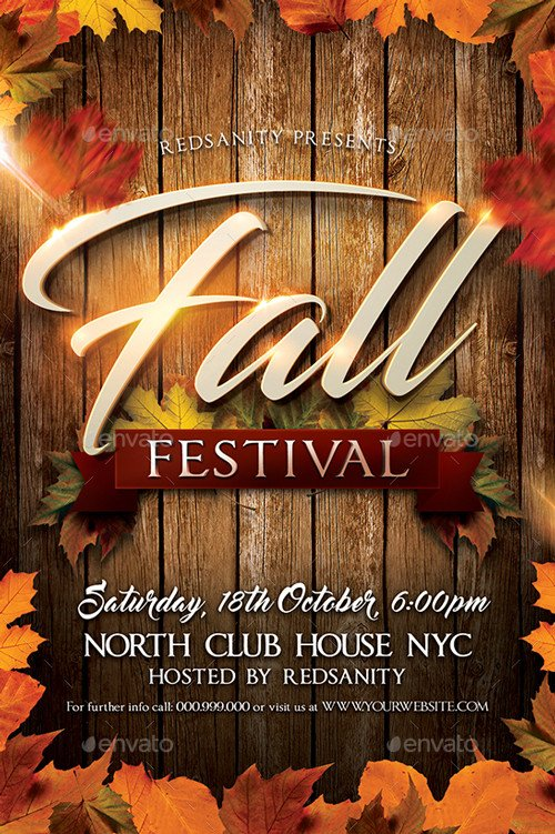 Fall Festival Flyer Template Best Of Autumn Flyer Templates Free and Premium Flyer