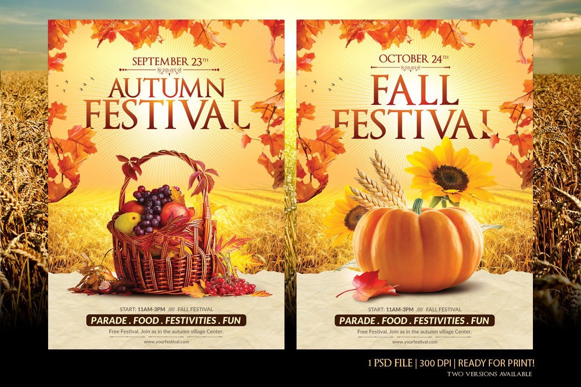 Fall Festival Flyer Template Fall Festival Flyer Template Flyer Templates Creative