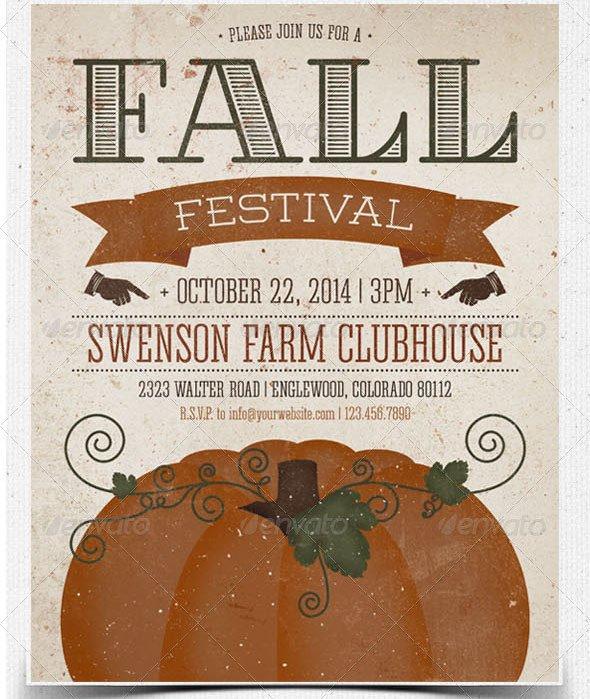 Fall Festival Flyers Template 22 Beautiful Postcard Psd Templates – Design Freebies