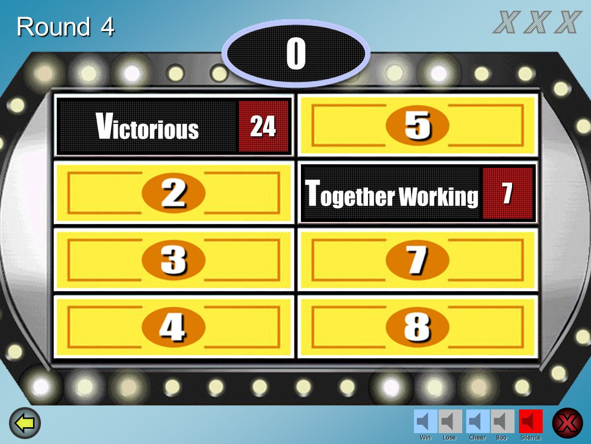 Family Feud Customizable Powerpoint Template Youth