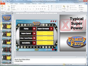 Family Feud Powerpoint Template Family Feud Customizable Powerpoint Template Youth