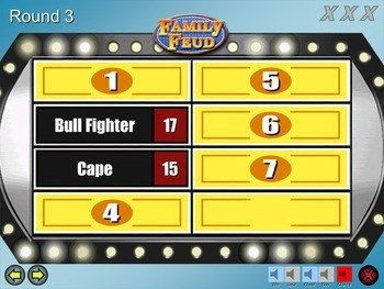 Family Feud Powerpoint Template Family Feud Game Template