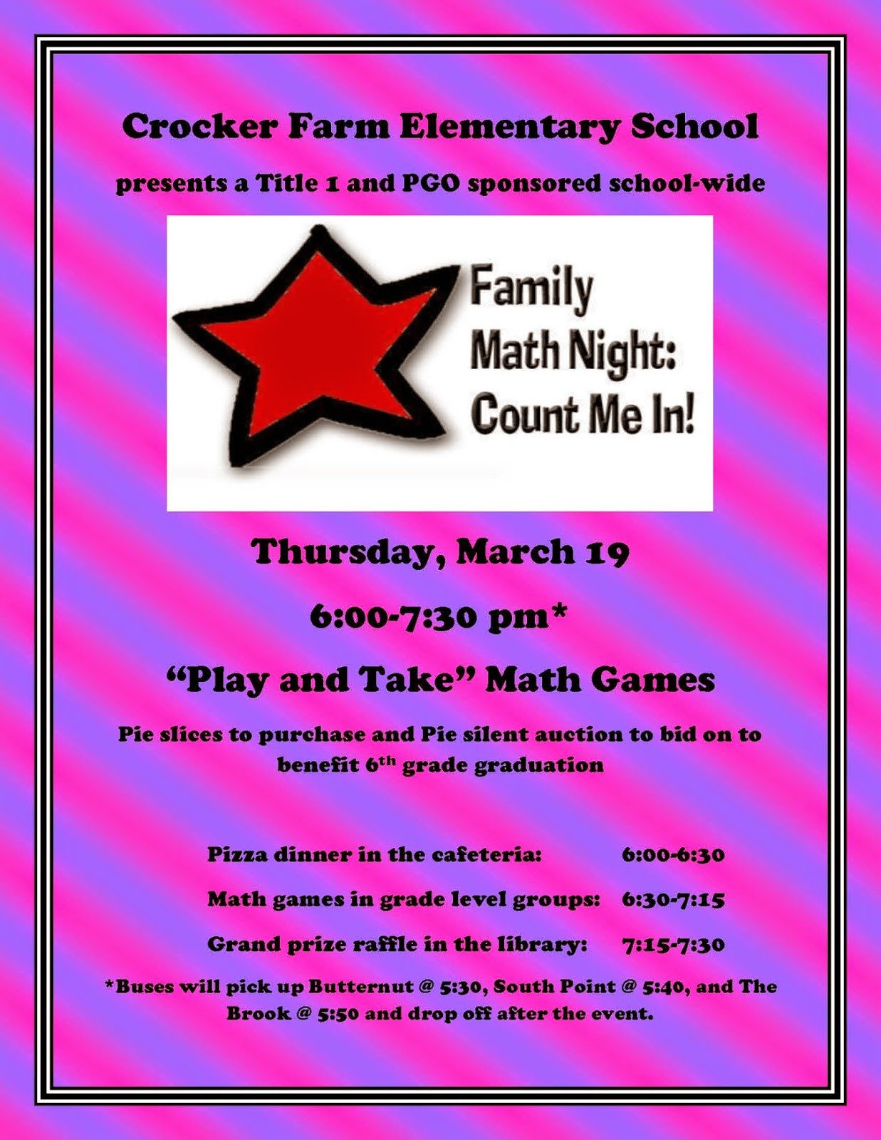Family Math Night Flyers Family Science Night Flyer Template Driverlayer Search
