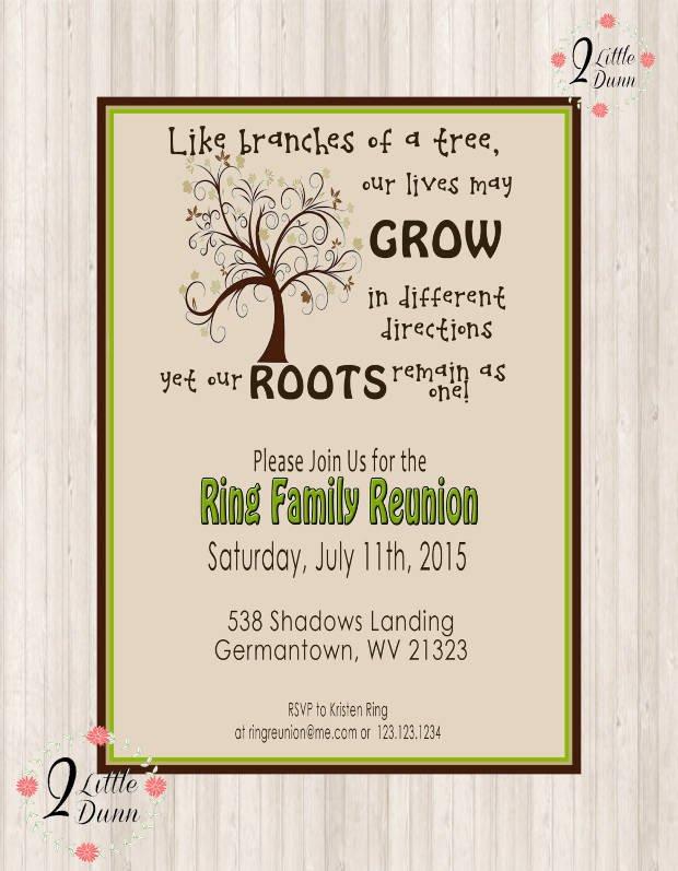 Family Reunion Flyer Templates 16 Family Reunion Invitation Designs Psd Ai