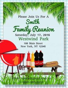 Family Reunion Flyer Templates Customizable Design Templates for Reunion