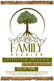 1 050 Customizable Design Templates for Family Reunion