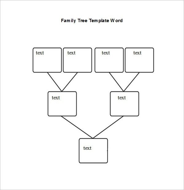 Family Tree Template Google Docs Family Tree format for Word – Gseokbinder Throughout