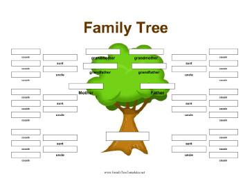 Family Tree Template Google Docs Family Tree Template Google Docs
