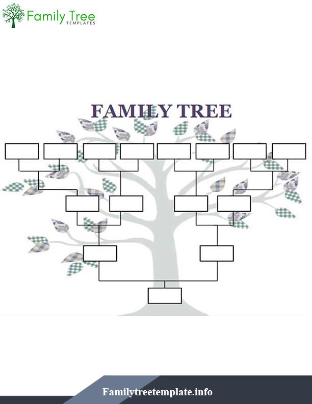 Family Tree Template Google Docs Family Tree Template