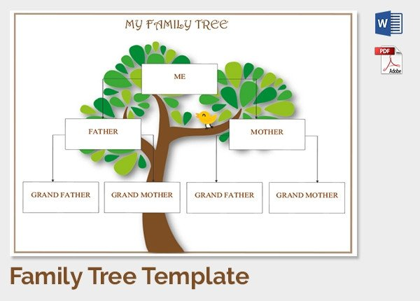 Family Tree with Pictures Template 25 Family Tree Templates Free Sample Example format