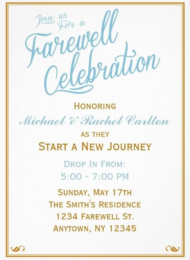 Farewell Party Invitation Template Free 20 Farewell Party Invitation Templates – Psd Ai Indesign