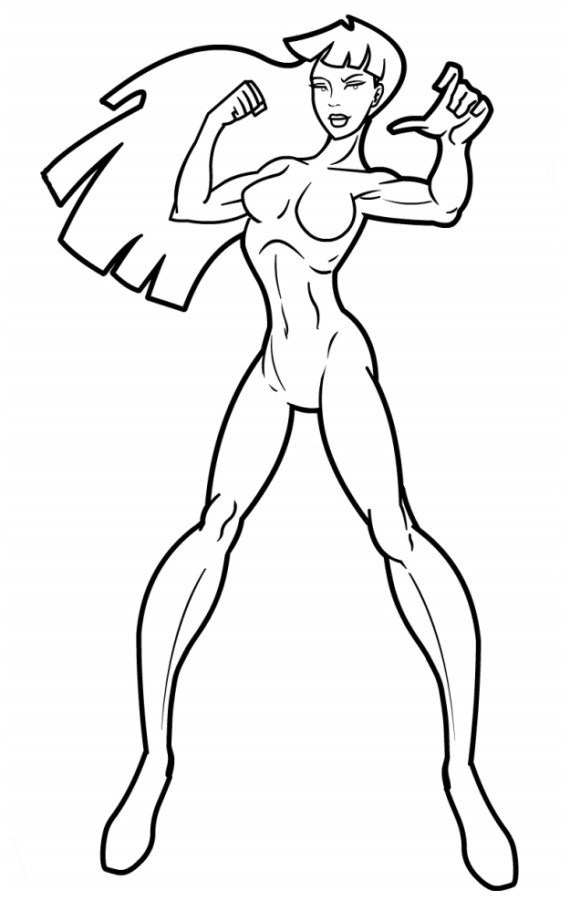 Female Body Outline Template Female Body Drawing Outline at Getdrawings