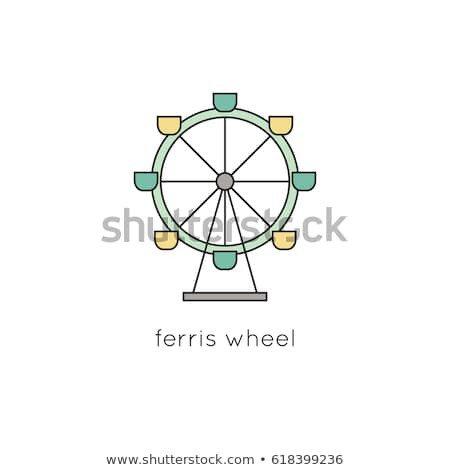 Ferris Wheel Template Ferris Stock Royalty Free & Vectors