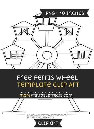 Ferris Wheel Template Free Ferris Wheel Template Clipart