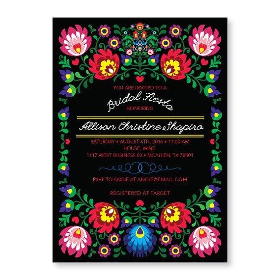 Fiesta Invitations Templates Free Fiesta Invitation Cinco De Mayo Party Mexican Invitation