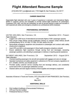 Flight attendant Cover Letter Flight attendant Cover Letter Sample & Guide