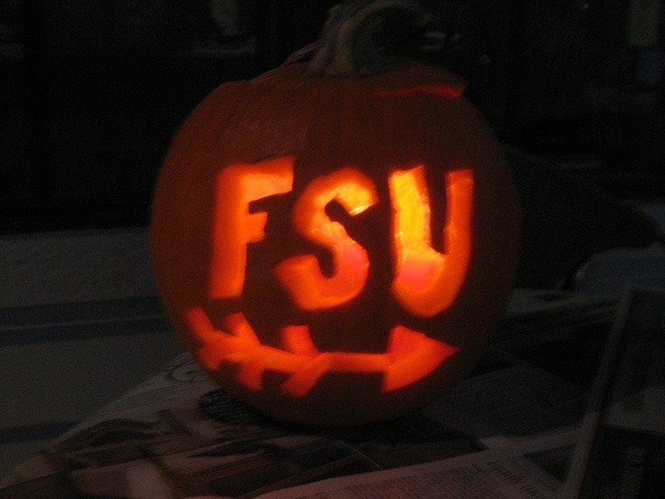 Florida Gator Pumpkin Stencil Carving Carving Pumpkins Fsu and the Fall