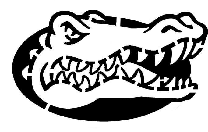 Florida Gator Pumpkin Stencil Carving Gators Stencil by Jan3090 683×433