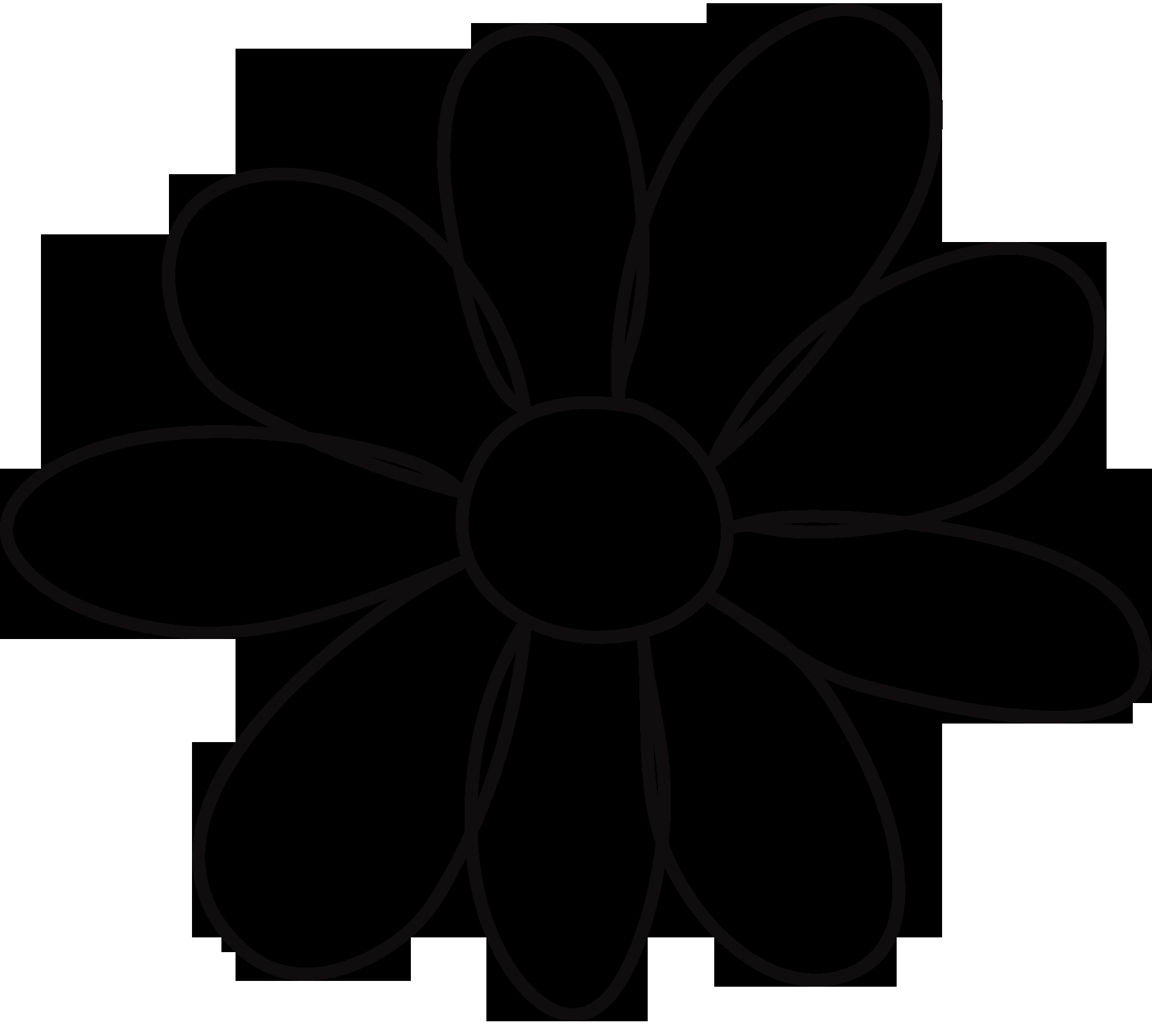 Flower Patterns To Trace ClipArt Best