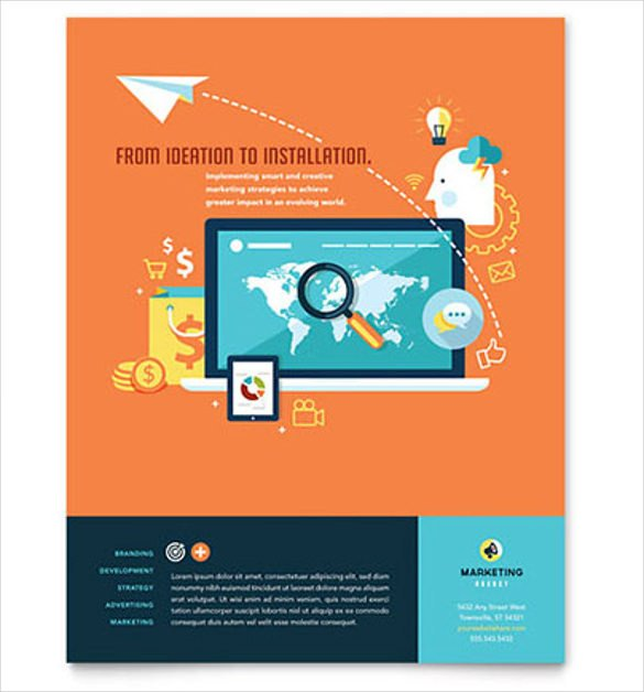 Flyer Templates Free Word 38 Business Flyer Templates Word Psd Publisher